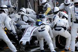 Фелипе Масса, Williams F1 Team во время пит-стопа