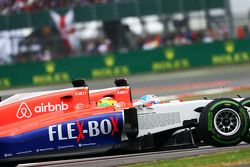 Roberto Merhi, Manor F1 Team and team mate Will Stevens, Manor F1 Team.