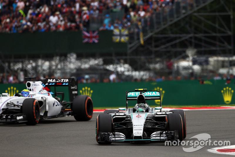 Nico Rosberg, Mercedes AMG F1 W06.