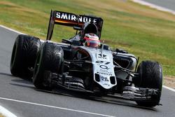 Nico Hulkenberg, Sahara Force India F1 VJM08 aan de finish