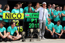 Nico Rosberg, Mercedes AMG F1 en het team