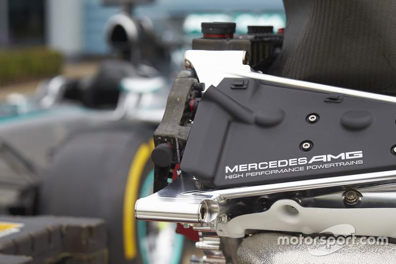 Mercedes AMG F1 Takımı motoru