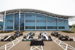 Carros da Mercedes F1
