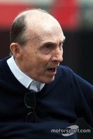 Frank Williams, proprietário da Williams Team