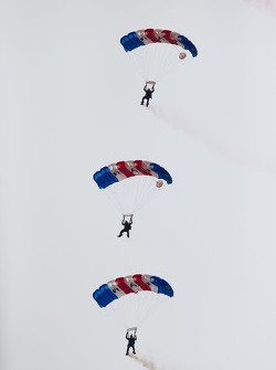 Les parachutistes de la Royal Air Force