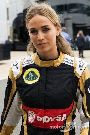 Carmen Jorda, piloto de desenvolvimento da Lotus F1 Team