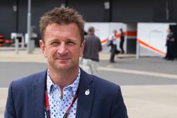Allan McNish, presentador de BBC F1