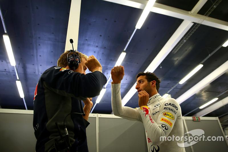 Daniel Ricciardo, Red Bull Racing latihan