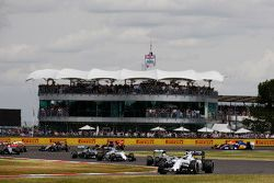 Felipe Massa, Williams FW37 no início da corrida