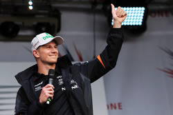 Nico Hulkenberg, Sahara Force India F1 at the post race concert