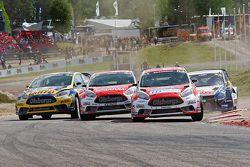 Andreas Bakkerud et Reinis Nitiss, Ford Olsbergs MSE Fiesta ST Supercar
