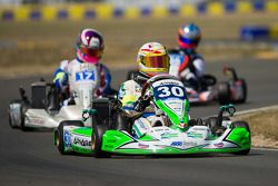#30 Arnage Team Racing Kart: Tony Blin, Olivier Paris, Alizée Guilmain, Simon Broad