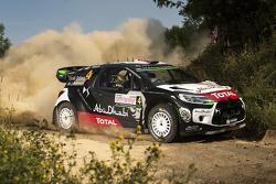 Mads Ostberg y Jonas Andersson, Citroën DS3 WRC, Citroën World Rally Team