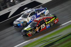 David Ragan, Michael Waltrip Racing Toyota and Clint Bowyer, Michael Waltrip Racing Toyota