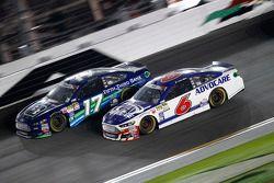 Ricky Stenhouse Jr., Roush Fenway Racing Ford and Trevor Bayne, Roush Fenway Racing Ford