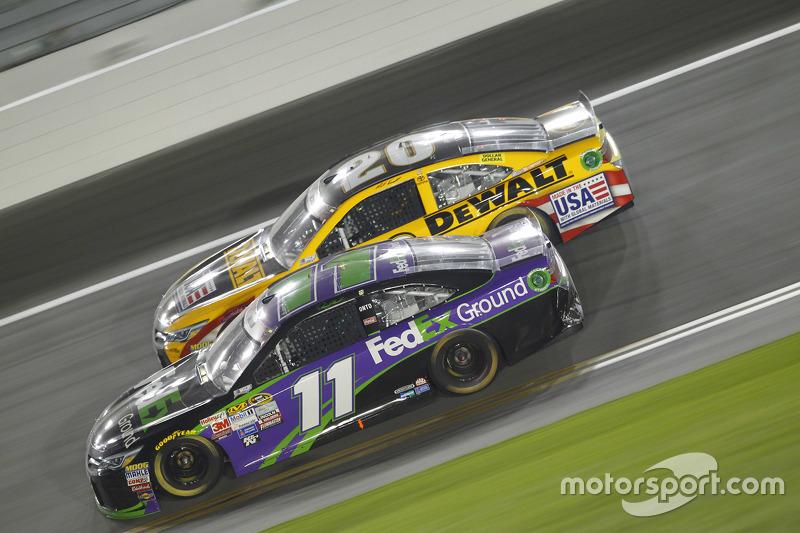 Denny Hamlin, Joe Gibbs Racing Toyota dan Matt Kenseth, Joe Gibbs Racing Toyota