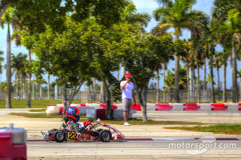 Emerson Fittipaldi jr. am Homestead Miami Speedway
