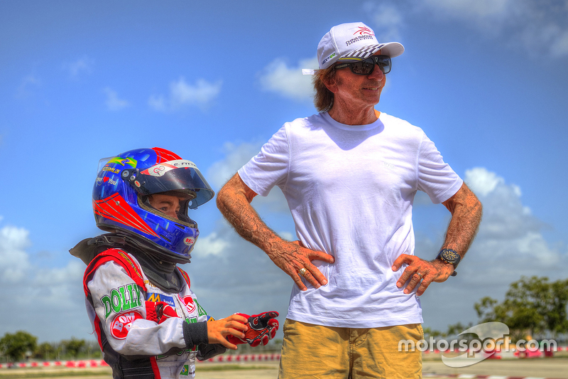 Emerson Fittipaldi Jr. no Homestead Miami Speedway
