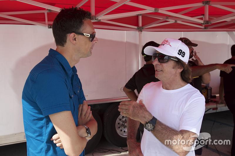 Emerson Fittipaldi Jr. en el Homestead Miami Speedway