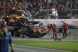 Wrecked car of Austin Dillon, Richard Childress Racing Chevrolet
