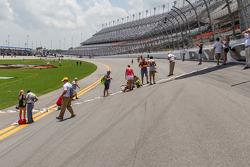 Fans in den Steilkurven von Daytona