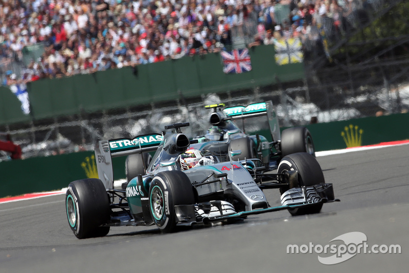 Lewis Hamilton e Nico Rosberg, Mercedes AMG F1 Team