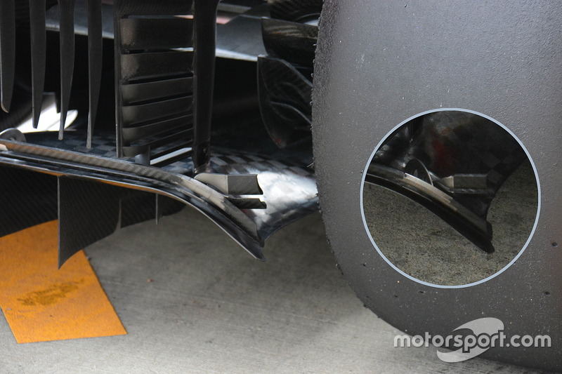 Análisis técnico: difusor trasero de Ferrari