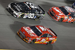 Brian Scott, Richard Childress Racing, Chevrolet, und Greg Biffle, Roush Fenway Racing, Ford