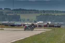 Торможение парашютом в конце дистанции