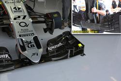 Technische analyse: Force India nieuwe neus