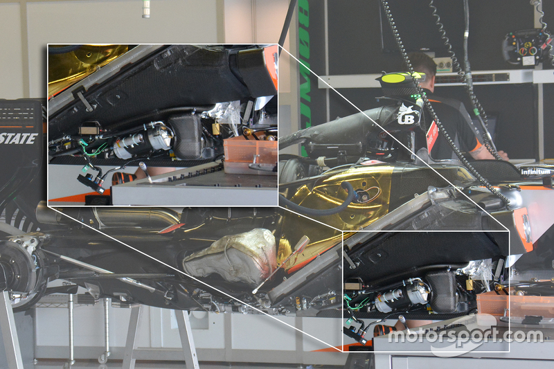 Technical analysis: Force India engine details