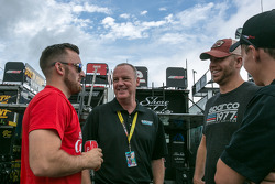 Austin Dillon, Richard Childress Racing Chevrolet and Brian Scott