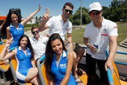 Ma Qing Hua, Citroën C-Elysée WTCC, Citroën World Touring Car team en Jose Maria Lopez, Citroën C-El