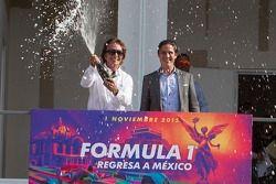 Emerson Fittipaldi, Embajador del GP de México con Rodrigo Sánchez de CIE