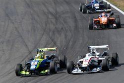Alessio Lorandi, Van Amersfoort Racing Dallara Volkswagen et Julio Moreno, ThreeBond with T-Sport Dallara NBE