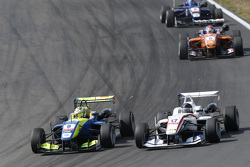 Alessio Lorandi, Van Amersfoort Racing Dallara Volkswagen and Julio Moreno, ThreeBond with T-Sport D