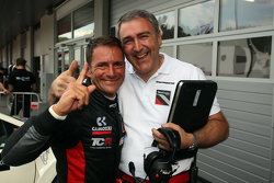 Ganador de la pole Gianni Morbidelli, Honda Civic TCR, West Coast Racing