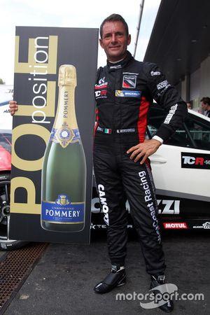 Gianni Morbidelli, Honda Civic TCR, West Coast Racing, pole pozisyonu