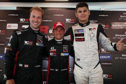 Rueda de prensa, segunda posición Kevin Gleason, Honda Civic TCR, West Coast Racing, Gianni Morbidel