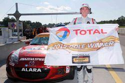 Ganador de la pole #34 Alara Racing Mazda MX-5: Christian Szymczak, Justin Piscitell