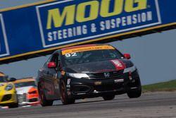 #91 HART Honda Civic Si: Kevin Boehm, Steve Eich