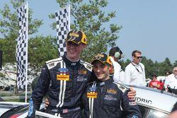 Yarış kazananı #158 Multimatic Motorsports Ford Mustang Boss 302R: Jade Buford, Austin Cindric