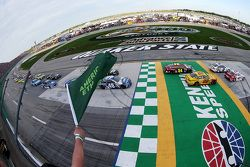 El inicio: Kyle Larson, Chip Ganassi Racing Chevrolet