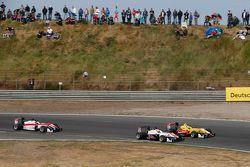 Start: Markus Pommer, Motopark Dallara Volkswagen passes Antonio Giovinazzi, Jagonya Ayam with Carli