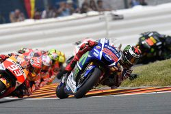 Jorge Lorenzo, Yamaha Factory Racing and Marc Marquez e Dani Pedrosa, Repsol Honda Team