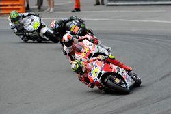 Andrea Iannone, Ducati Team, Yonny Hernandez, Pramac Racing Ducati, Bradley Smith, Tech 3 Yamaha et Cal Crutchlow, Team LCR Honda