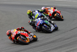 Марк Маркес, Repsol Honda Team, Хорхе Лоренсо и Валентино Росси, Yamaha Factory Racing и Дани Педрос