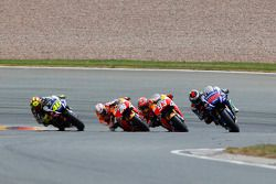 Jorge Lorenzo, Yamaha Factory Racing, Marc Marquez, Dani Pedrosa, Repsol Honda Team et Valentino Rossi, Yamaha Factory Racing