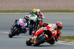 Marc Marquez, Repsol Honda Team, Jorge Lorenzo, Valentino Rossi, Yamaha Factory Racing et Dani Pedrosa, Repsol Honda Team