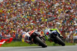 Valentino Rossi, Yamaha Factory Racing et Dani Pedrosa, Repsol Honda Team